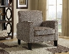 DS-2279-900-5 Upholstery Accent Chair in Grey