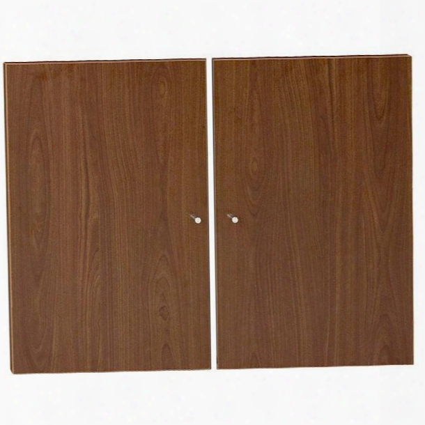 """100 Collection A180-wal 30"""" Doors For Bookcases With Scratch Resisttant High Pressure Melamine Medium-density Fiberboard (mdf) Materials And Open Grain Finish"""