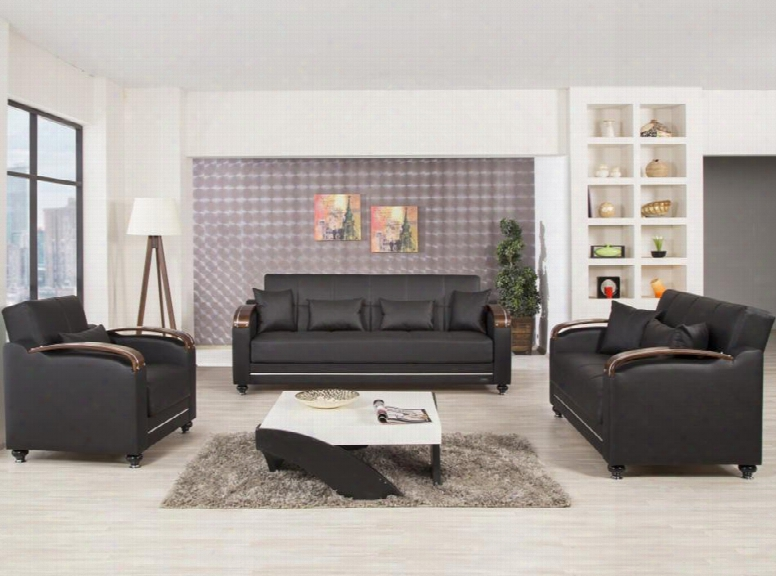 Divamax Disblsaczbl Package Including Sofabed Convertible Love Seat And Convertible Armchair With Pillows Storage Under The Seats Bun Feet Curved Arms And