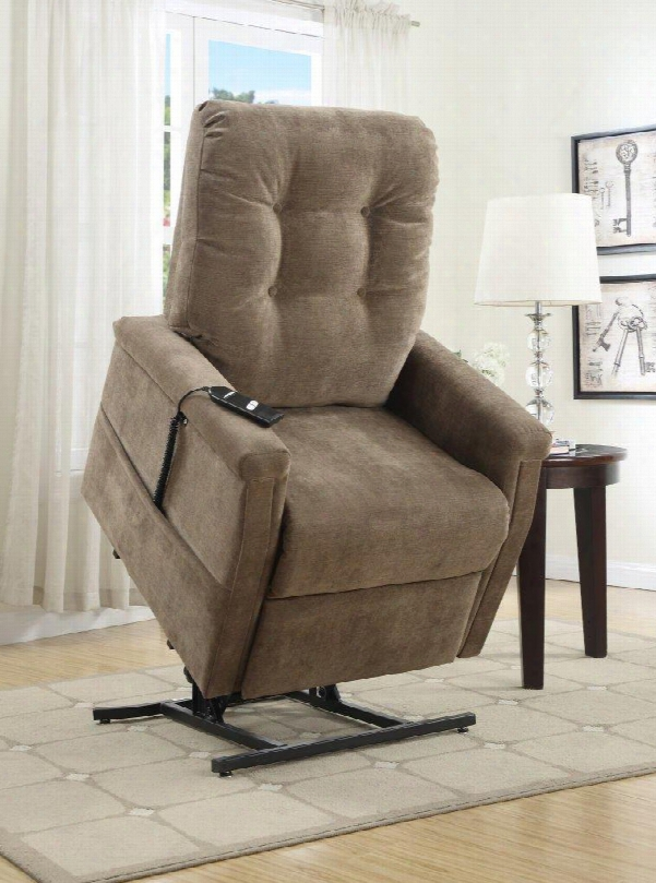 Ds-1667-016-051 Montreal Coffee Fabric Lift Chair In