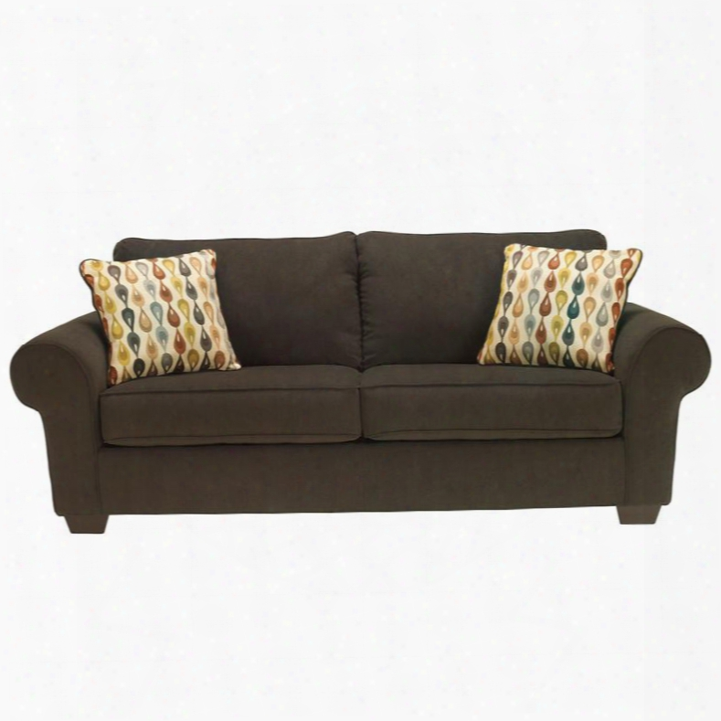 Fbc-2499so-jav-gg Benchcraft Deandre Sofa With Loose Seat Cushions In Java