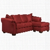 FSD-1109SOFCH-RED-GG Signature Design by Ashley Darcy Sofa Chaise in Red