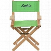 TYD03-GN-EMB-GG Embroidered Kid Size Directors Chair in