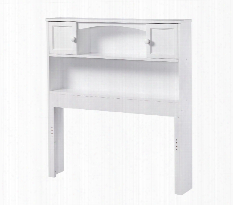 "R-185822 43.25"" Ne Wport Bookcase Twin Headboard With Eco-friendly Construction Mdf In"