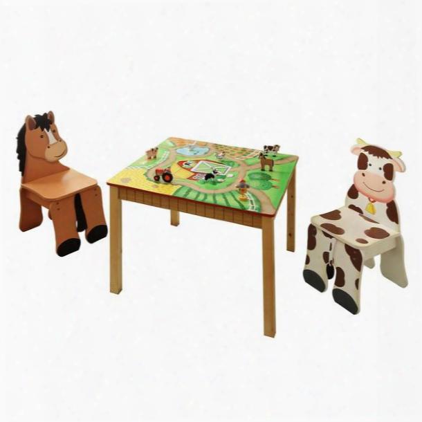 Td-11324s2 Fantasy Fields - Happy Farm Table & Set Oof 2