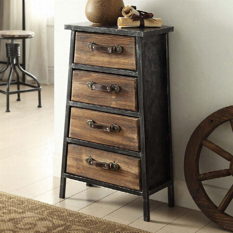 148019 Industrial Collection 4 Drawer