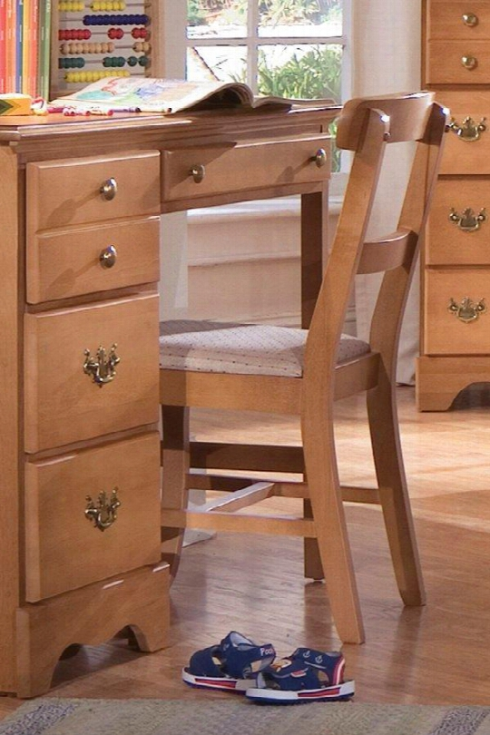 """Common Sense 150000 33"""" Youth Bedroom Chair With Smart Fabric Cushion Solid Wood Frame And Curved Backrest In Salem"""