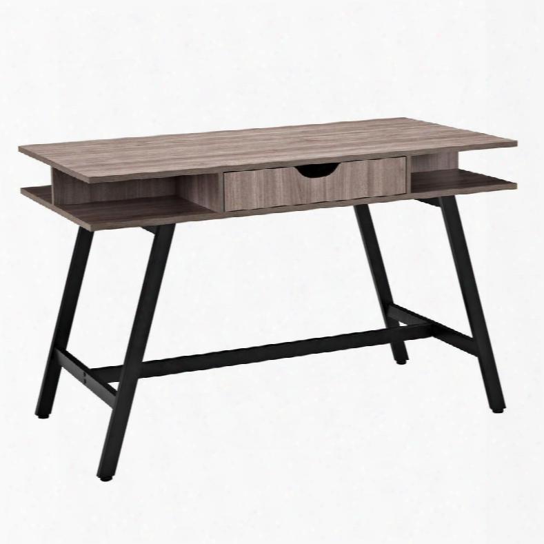 Eei-1324-bir Turnabout Office Desk In Birch