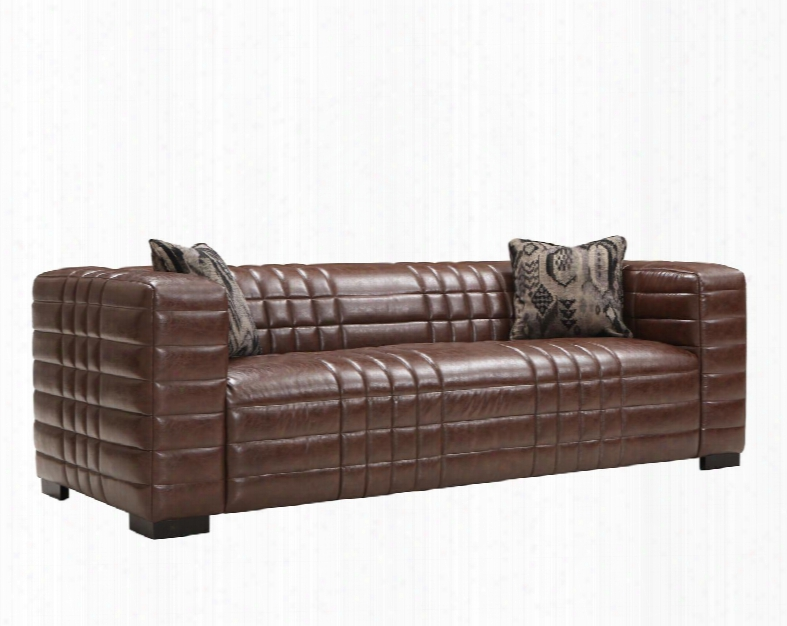 Lcmx3br Maxton Sofa In Brown