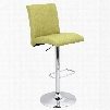 BS-JY-TNT GN Tintori Height Adjustable Contemporary Barstool with Swivel in