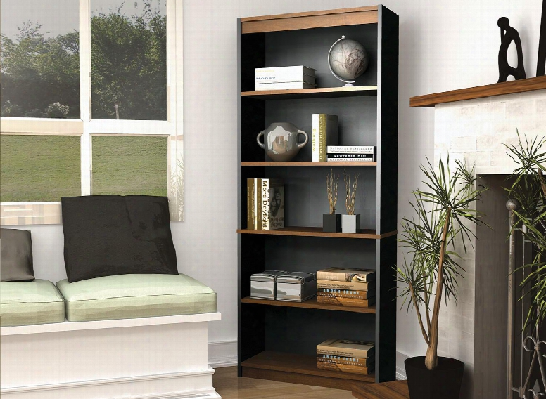92700-3163 Innova Bookcase In Tuscany Brown &