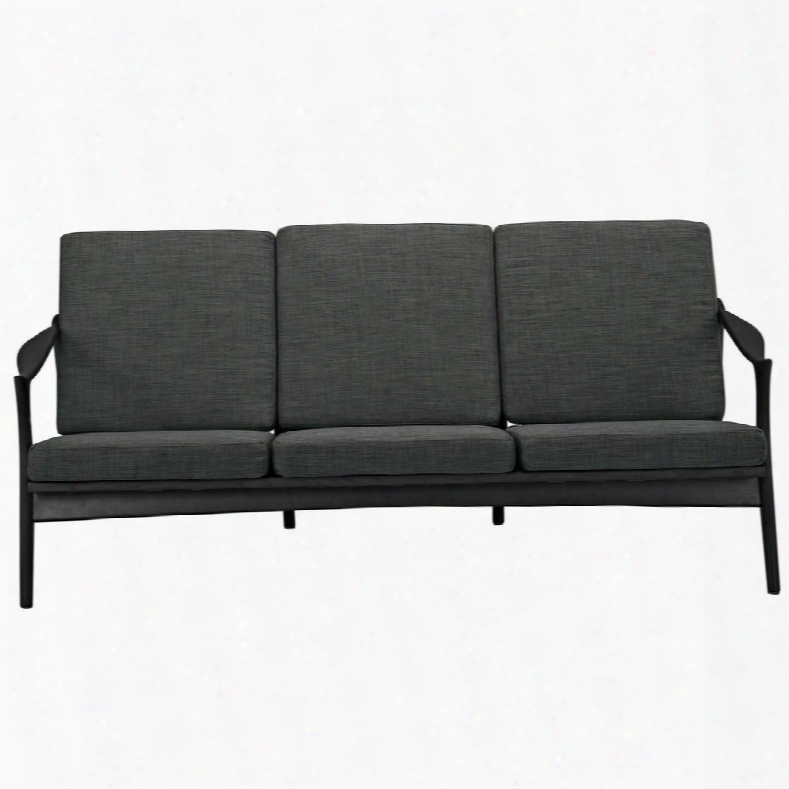 Eei-1448-blk-gry Pace Sofa In Black Gray