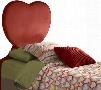 """198-039 59"""" Heart Twin Size Headboard in"""