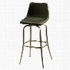 QLDP219221979 Diamond Pearl 30 in. Bar Height Swivel Barstool in