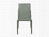 Set of Four Stacking Alder Side Chairs in Green design by Euro Style