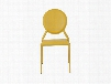 Set of Two Isabella Side Chairs in Yellow design by Euro Style