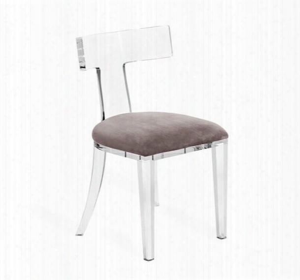Tristan Acrylic Klismos Chair Design By Interlude Home
