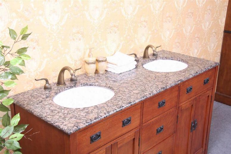 Wp5433-bb-61-d 61 Baltic Brown Granite Backsplash And Cupc