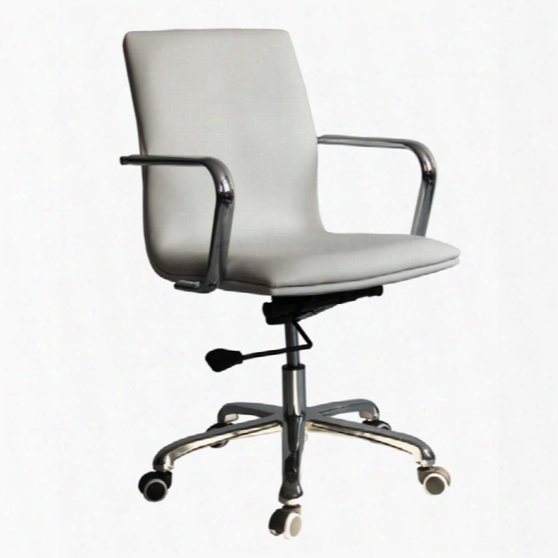 Fmi10170-white Confreto Conference Office Chair Mid Back