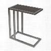 234709 Large: 20Diam x 25H Small: 17Diam x 23.5H Set of 2 Margaret C Tables in Silver Powder Coat Metal &