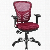 EEI-757-RED Articulate Office Chair in Red