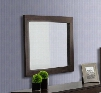 "VGDEB1030-WGE Modrest Bravo 29"" Rectangular Mirror in Wenge Glossy"