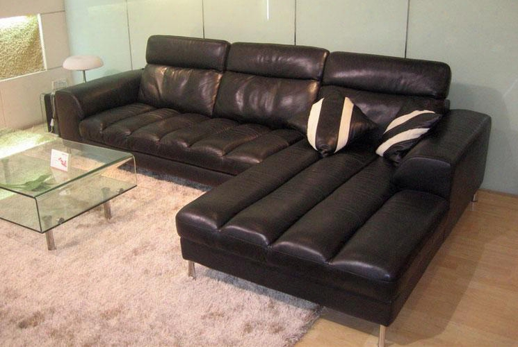 Vgbnbo3933sect-1 Divani Casa Bo3933 Leather Sectional