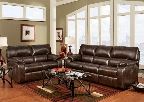 191303ccsl Rita Reclining Sofa + Loveseat With 16 Gauge Wire Zippered Seat Cushions Sinuous Springs Solid Kiln Dried Hardwoods And Engineered Wood Products