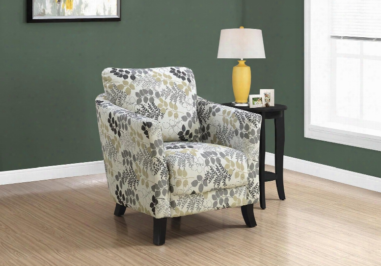 I 81183 Accent Chair - Earth Tone Floral
