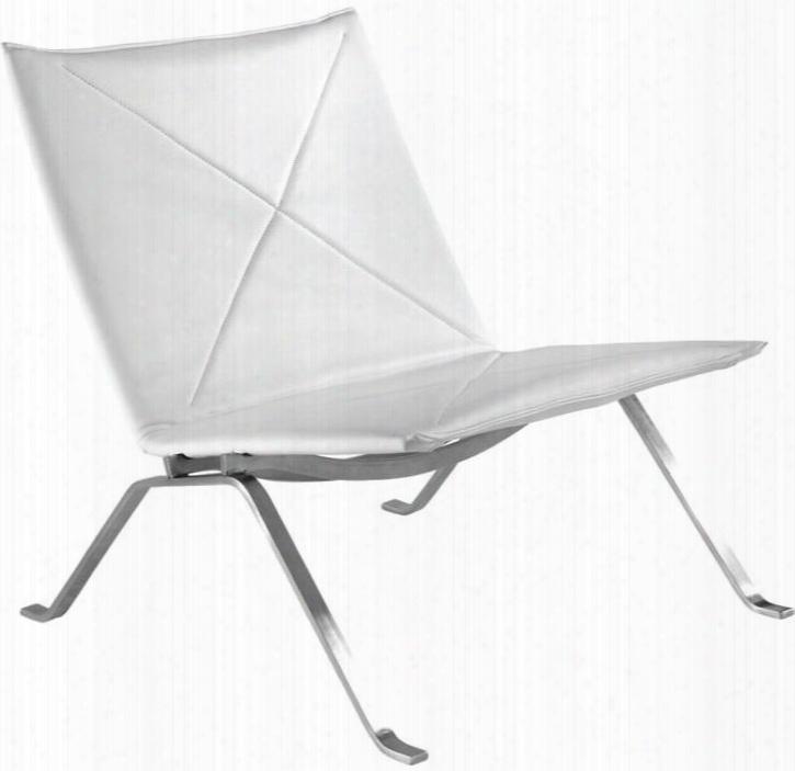 Fmi10042-white Pika 22 Lounge Chair