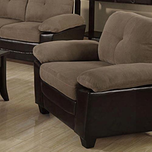 I 8941br Ottoman - Chocolate / Dark Brown Leather