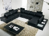 """Divani Casa T35 Collection VGYIT35-2HL 154"""" 4-Piece Leather Sectional Sofa with Left Arm Facing Sofa Corner Seat Armless Loveseat and Right Arm Facing Chaise"""