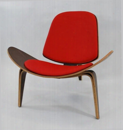 Fmi1162-red Shell Chair