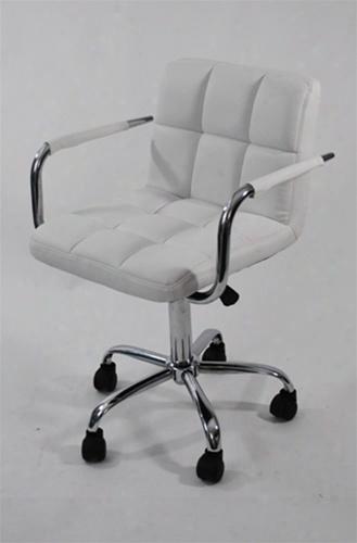 Fmi9255-white Studio Office Chair