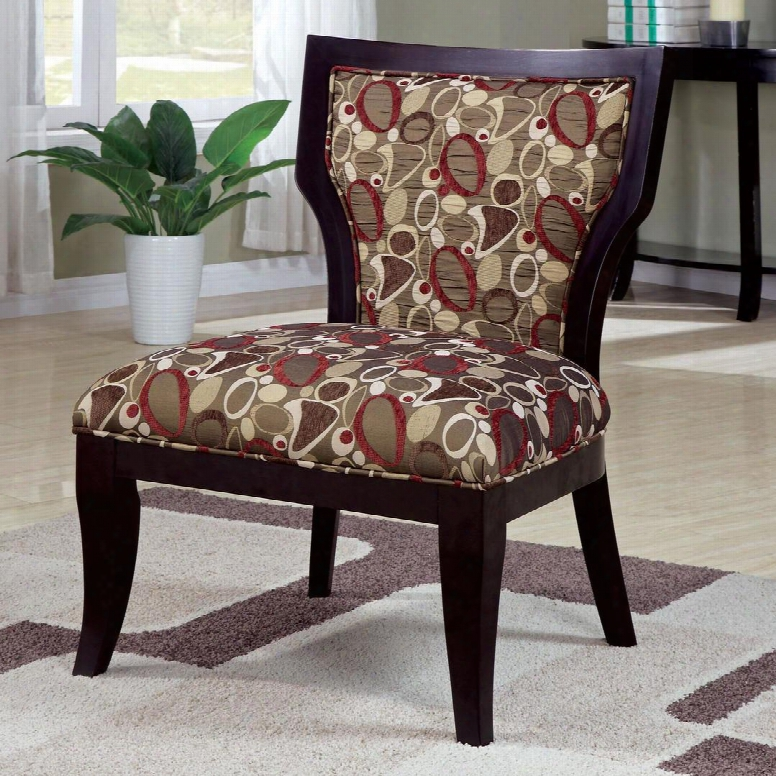 902044 Accent Seating Armless Accent Chair With Exposed