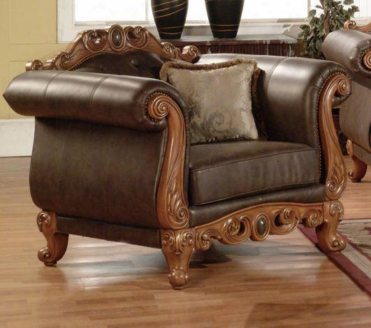 668-c French Provincial Bonded Leather