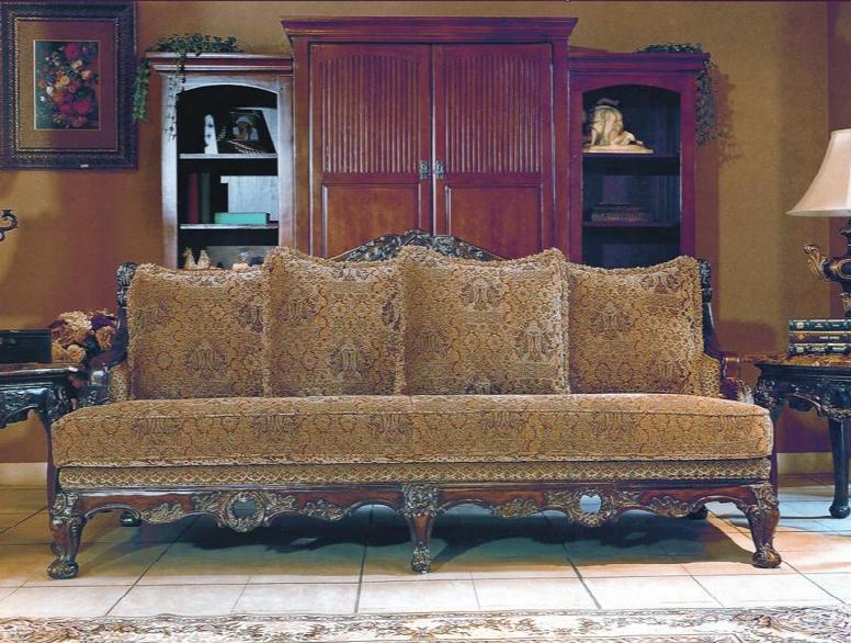 Ce8000s Celebrity Fabric/woodtrim Sofa In