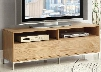 91006 Caden Natural & Chrome Finish TV