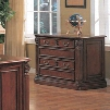 TC6660F Tucson Wood Executive Lateral File in Cherry