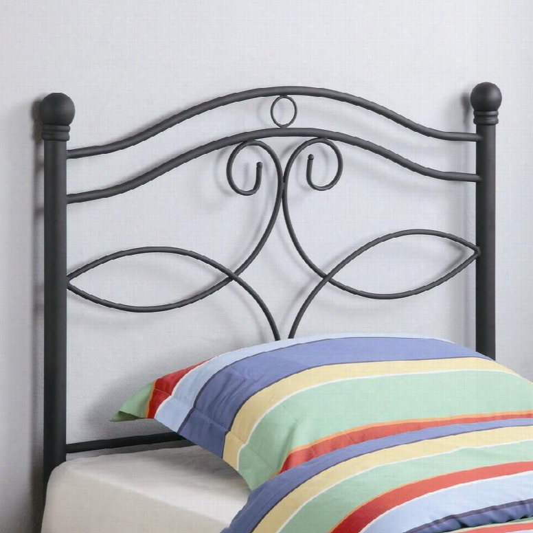 450102t Transitional Twin Metal Headboard By Coaster