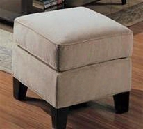 500234 Park Place Upholstered Cream Ottoman By Coaster