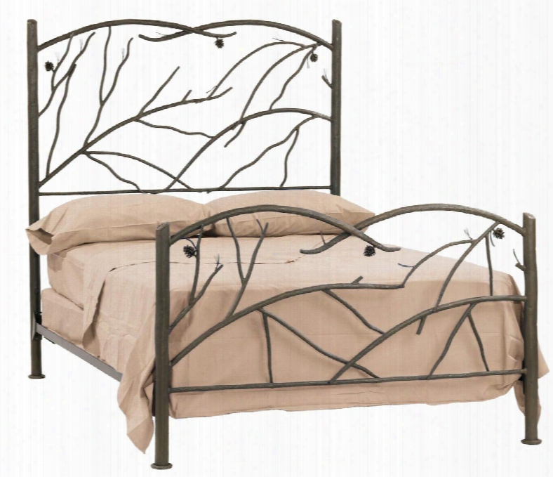 904-136 Pine Twin Bed (natural
