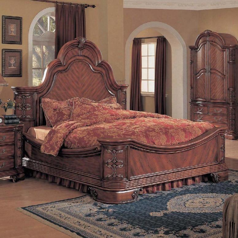 Ha6100q Hannah Queen Bed In Cherry