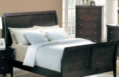 Mn4040k Montgomer King Sleigh Bed In A Cappuccino