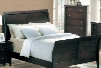 MN4040Q Montgomery Queen Sleigh Bed in a Cappuccino