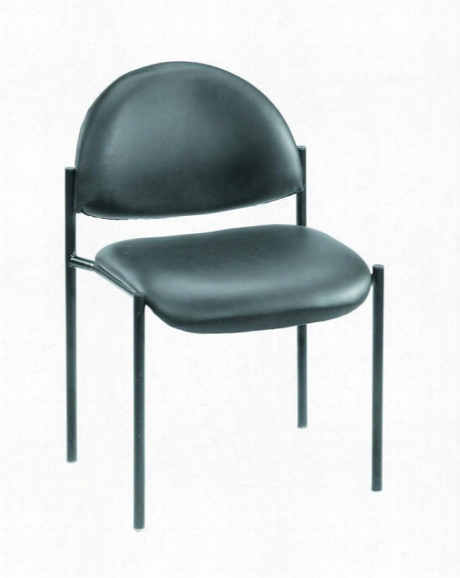 """B9505-cs 31"""" Diamond Stacking Chair With Powder Coated Steel Frames Tapered Legs And Waterfall Seat In Black Careessoft"""
