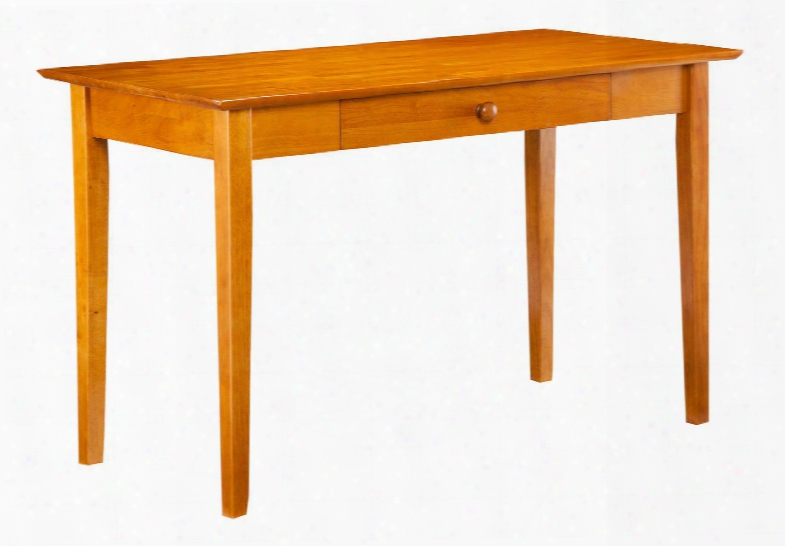 "H-79287 29.375"" Shaker Desk With Drawer In Caramel"