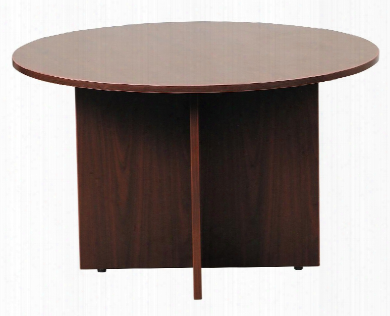 "N127-m 42"" Round Table With 3mm Pvc Banding In"