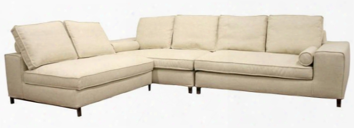 Td9802a-a538-1a 3 Piece Sectional Sofa Set In