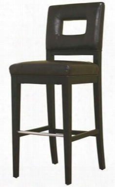Y-780-001-1 Faustino Series Leather Barstool In